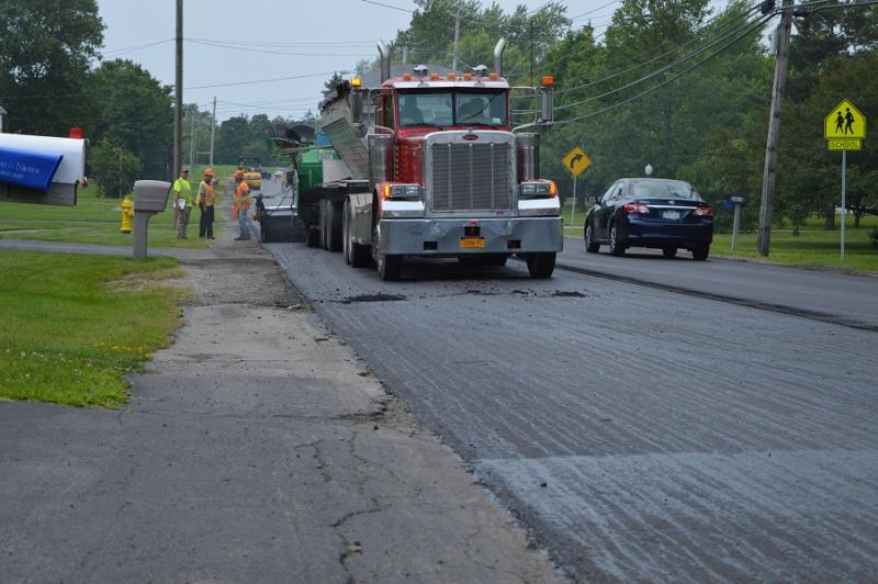 Amsdell Road Paving 2