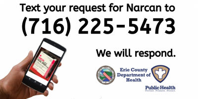 Text your request for Narcan to 716-225-5473