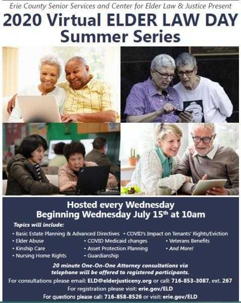 2020 Virtual Elder Law Summer Series